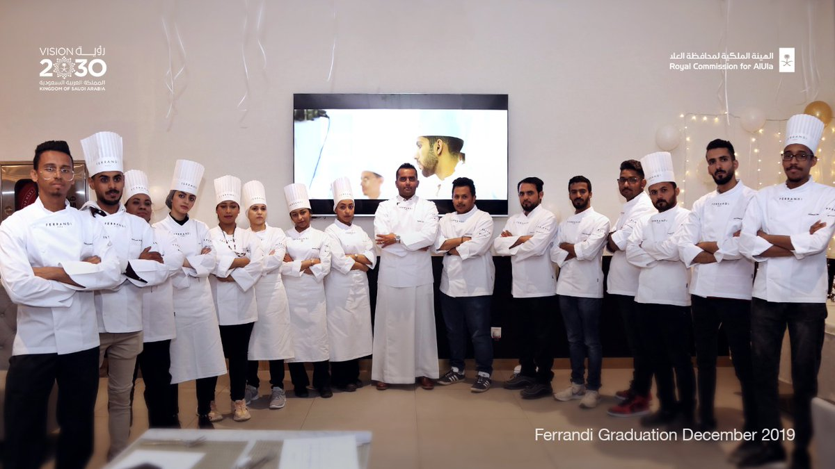 Five of the 24 chefs from #AlUla in RCU's partnership with @FERRANDIParis to train the next generation of chefs have now started their careers with one of AlUla's largest resort operators. https://t.co/86kcCeHbsK