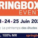 Image for the Tweet beginning: #SpringBoxEvent du 23 au 25