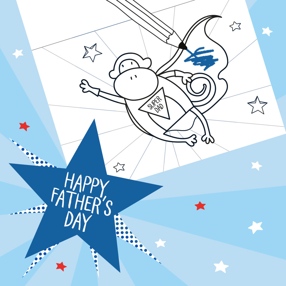 Who doesn't love something made with love from their little one? 🥰 Celebrate the Super Dad in your family with our colour-in Father's Day card: https://t.co/vbKgRHoTLo #fathersdaycard #toddleractivities #fathersday2020 https://t.co/lKd51a7vHY