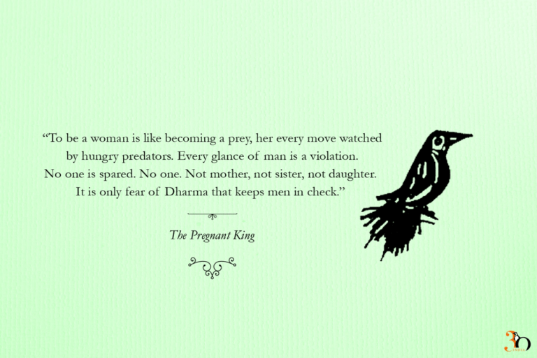 What is it like to be a woman in India?  @devduttmyth #ThePregnantKing  #SeenByStoriesHeardByWords #PenguinPride #PrideMonth