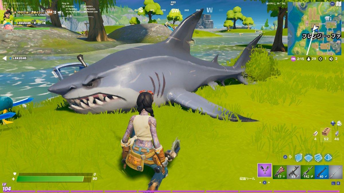乗り 方 ナイト サメ フォート