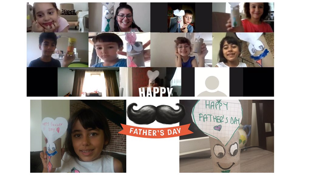 Our dads are our superheroes!🦸♂️ That's why we've made a lovely craft for them as a gift! 🎁 #HappyFathersDay #1stgrades https://t.co/t799ay1KKn