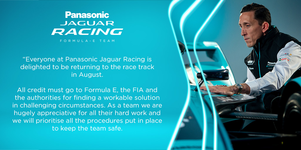 🗣️James Barclay, Team Director, Panasonic Jaguar Racing  #BerlinEPrix #JaguarElectrifies #ABBFormulaE https://t.co/FMmihBoGau