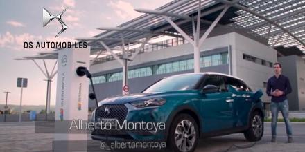 .@CCubicos, de la mano del periodista especializado en motor @_albertomontoya, pone a prueba el potencial tecnológico de nuestro 100% eléctrico DS 3 CROSSBACK E-TENSE.   ¡Dale al play para conocer sus impresiones al volante!  👉 https://t.co/mNPW7aneE6 https://t.co/o38NYe6p8l