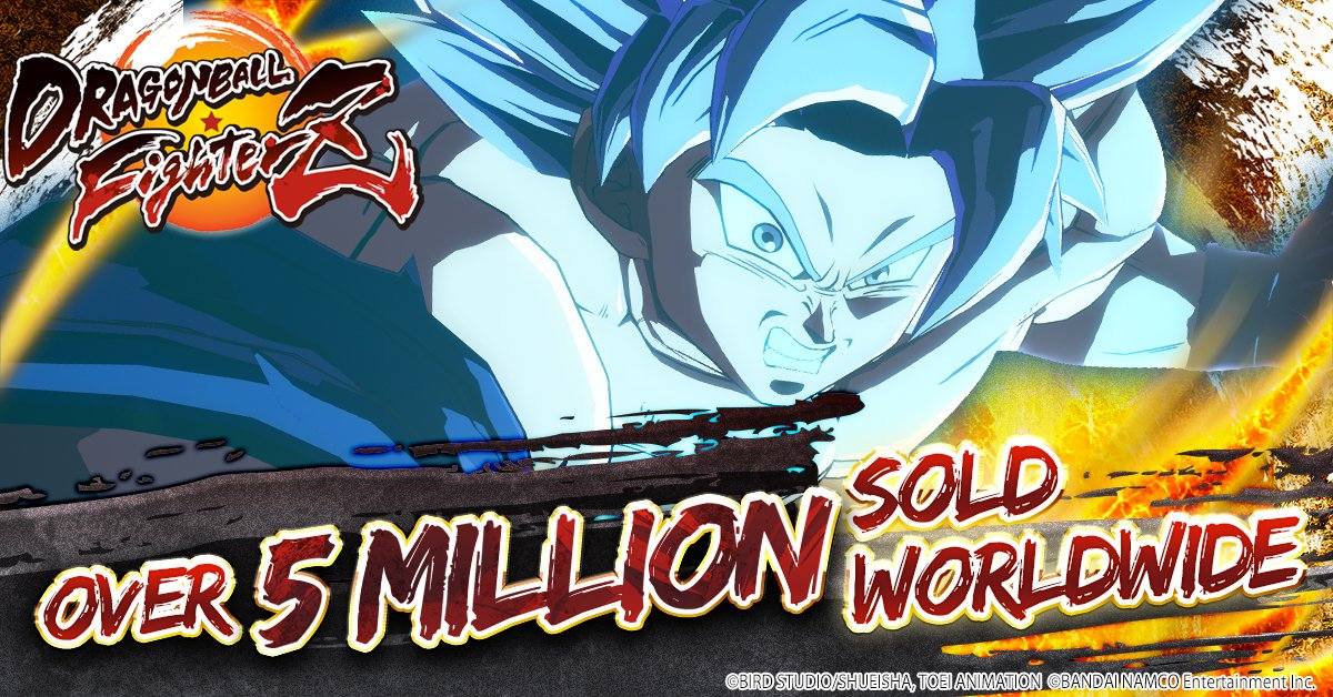 DragonBall FighterZ prodal už přes 5 miliónů kopií