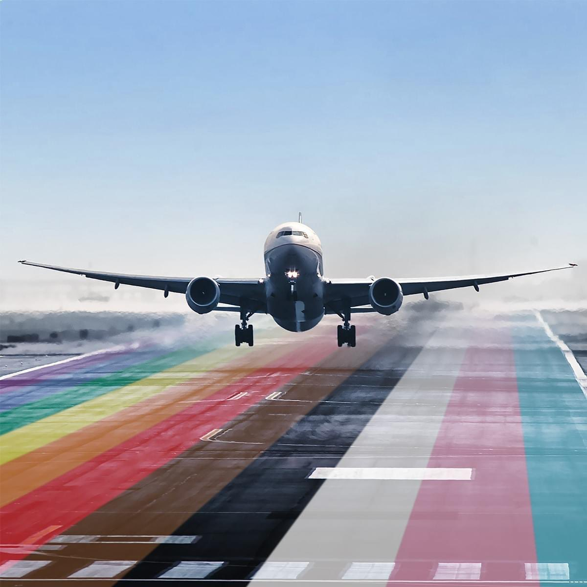 Bound by a universal respect for the dignity of all people, we will always be dedicated to flying higher for our customers and one another. Let your true colors fly. 📷: diecastryan #Pride2020 #UnitedPride @weareunited @united
