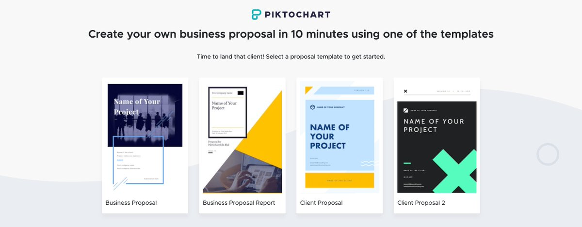 Time to land that client! Select a business proposal template to get started. Right here 👉🏼 bit.ly/30UOyg2