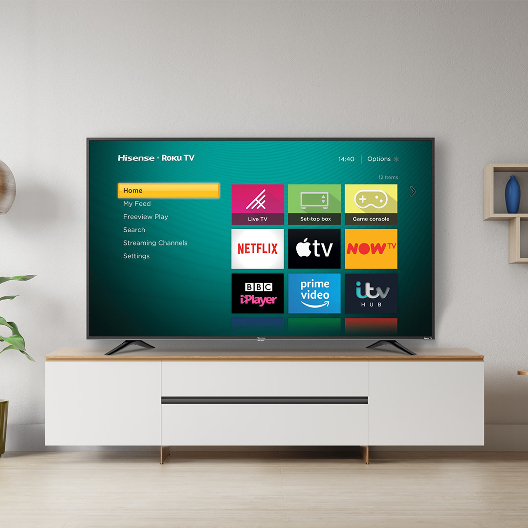 """""""One of the best TVs you can buy under £500!""""    That's a review we like the sound of 😉    Read more from @T3dotcom on the Hisense Roku TV here 👉 https://t.co/bIt9r5IqAu https://t.co/bT3DjYRGlg"""