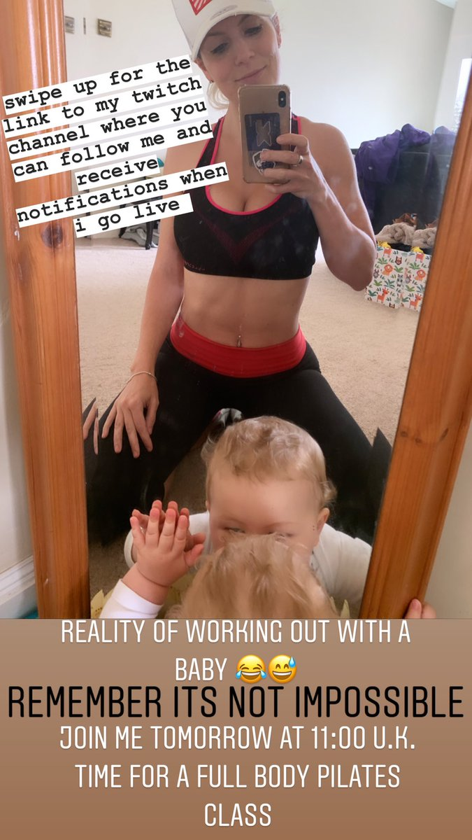 Come #getfitwithlea see you tomorrow 11am uk time for a full body Pilates stream. Lots of love #fitness #fitnessmum #postpartumfitness #postbabybody #fitfam #streamer #twitch #twitchstreamer #twitchgirlpic.twitter.com/bufOuecZMh