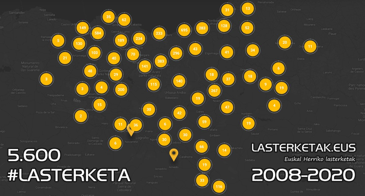 🏃♀️(eu) Euskal Herriko lasterketak (5.600) azken 12 urteetan 🏃(es) Las carreras del País Vasco (5.600) los últimos 12 años 👉 https://t.co/NBuZZsr34k #lasterketak #biharhobetoetaarinago #euskalherria #korrika #12urte #2008 #2020 #running #trail #trailrunning https://t.co/j9rGVNmRwB