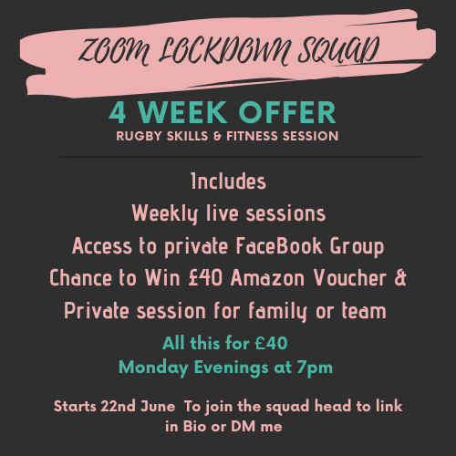 Fancy joining our Zoom Lockdown Squad? #LockdownSquad Link In bio to Register on DM me 😁