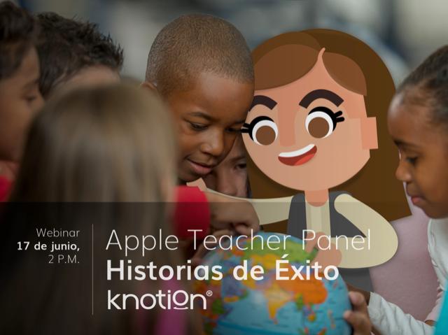 Hoy, tres Apple Teachers de México compartirán su experiencias con Knotion, que incorpora de manera transversal las herramientas de Apple Education. 👨💻📲  No te pierdas la transmisión a las 2 pm:👇  https://t.co/tQSHax7DRF  #AppleTeacher #SomosKnotion💙 https://t.co/Oua0qGJ9UN