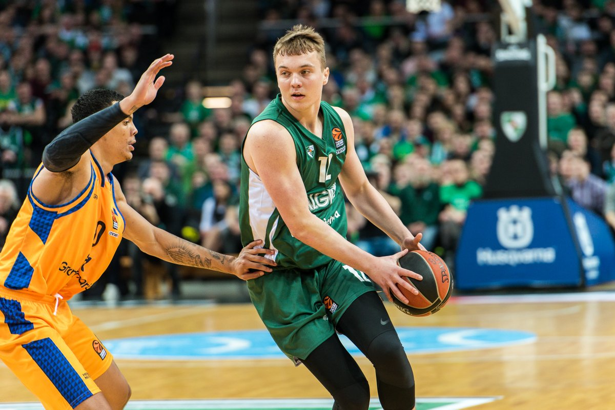 Zalgiris' prospect Erikas Venskus is looking to make an impact in Panevezys next season, where he'll be going out on loan! 🏀  Read more 👉 https://t.co/uigkhFPs4Q https://t.co/w9V984dXMn