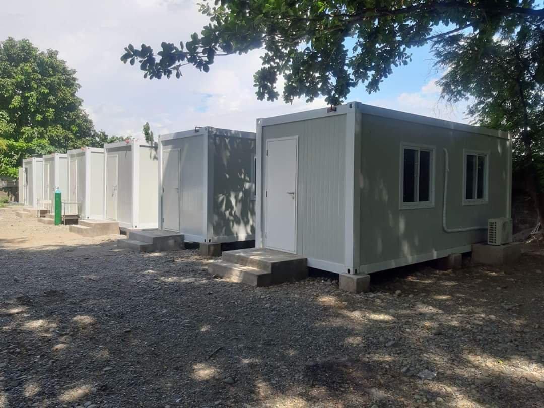 [#SUREILOCOSSUR] #FightagainstCOVID19 #COVID19  isolation units converted from container vans in the province of ilocos sur🥰🥺