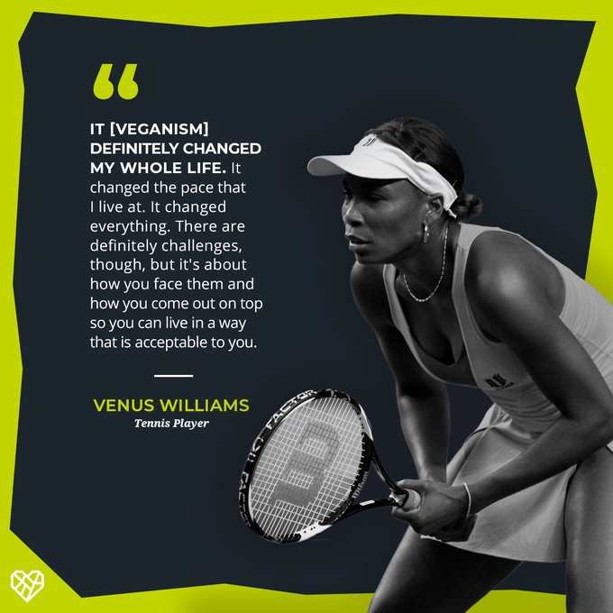 Happy Birthday, Venus Williams! Thank you for being a compassionate champion!