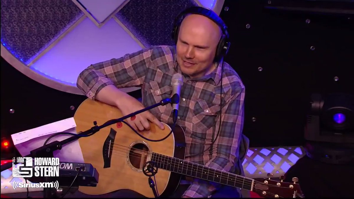 "Stern Show on Twitter: "".@Billy Corgan treats Howard to a rare ..."