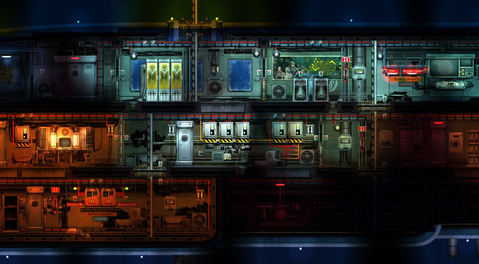 Barotrauma art unification Azimuth new decorative sprites