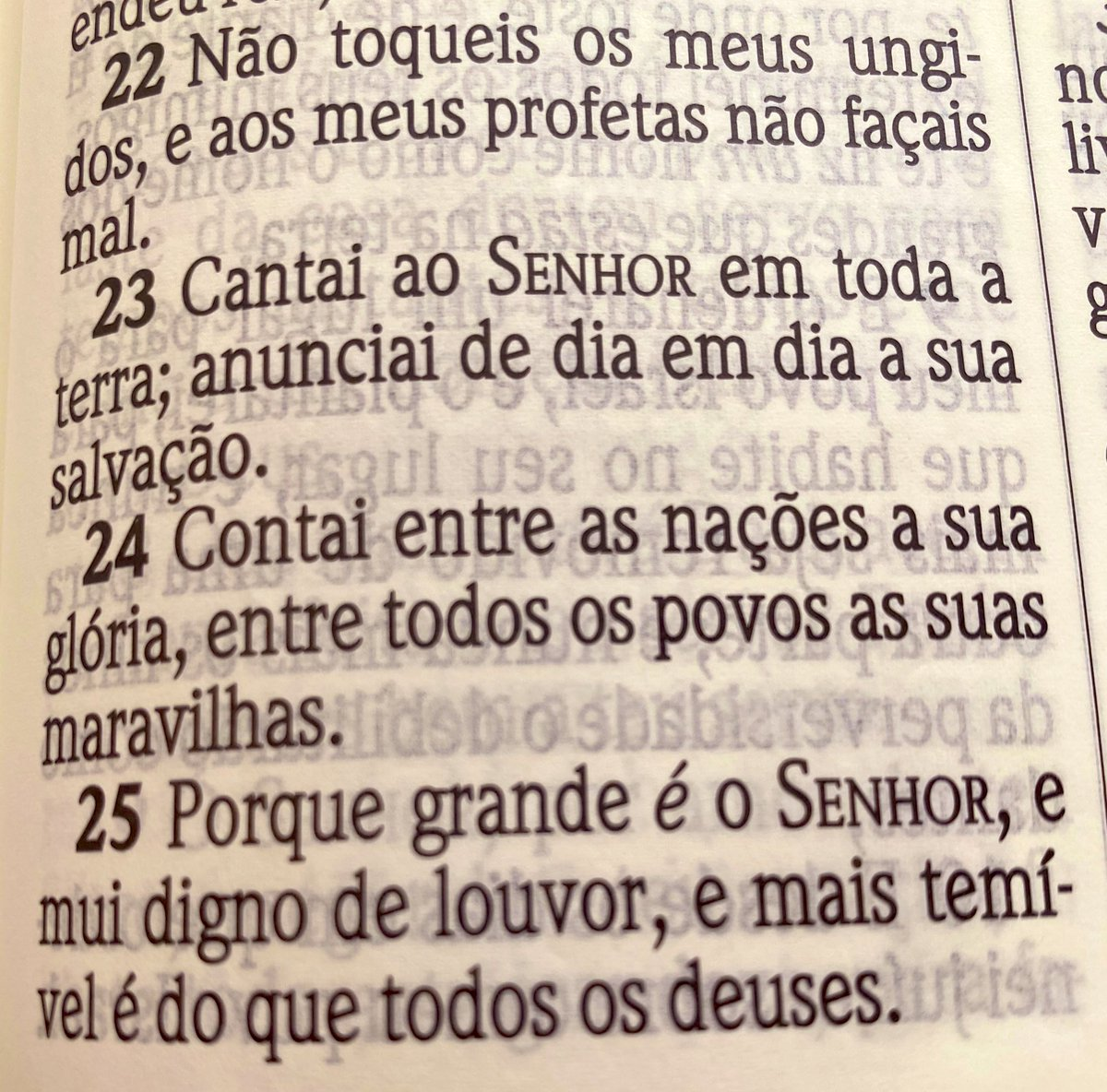 Meu devocional de hoje... 1Cro.16:22-25 . Se quiser ... pode compartilhar! . Deus abençoe o teu dia 🙏🏻🙌🏻  .  Amém & Amém 😭 https://t.co/224B45ZK3T