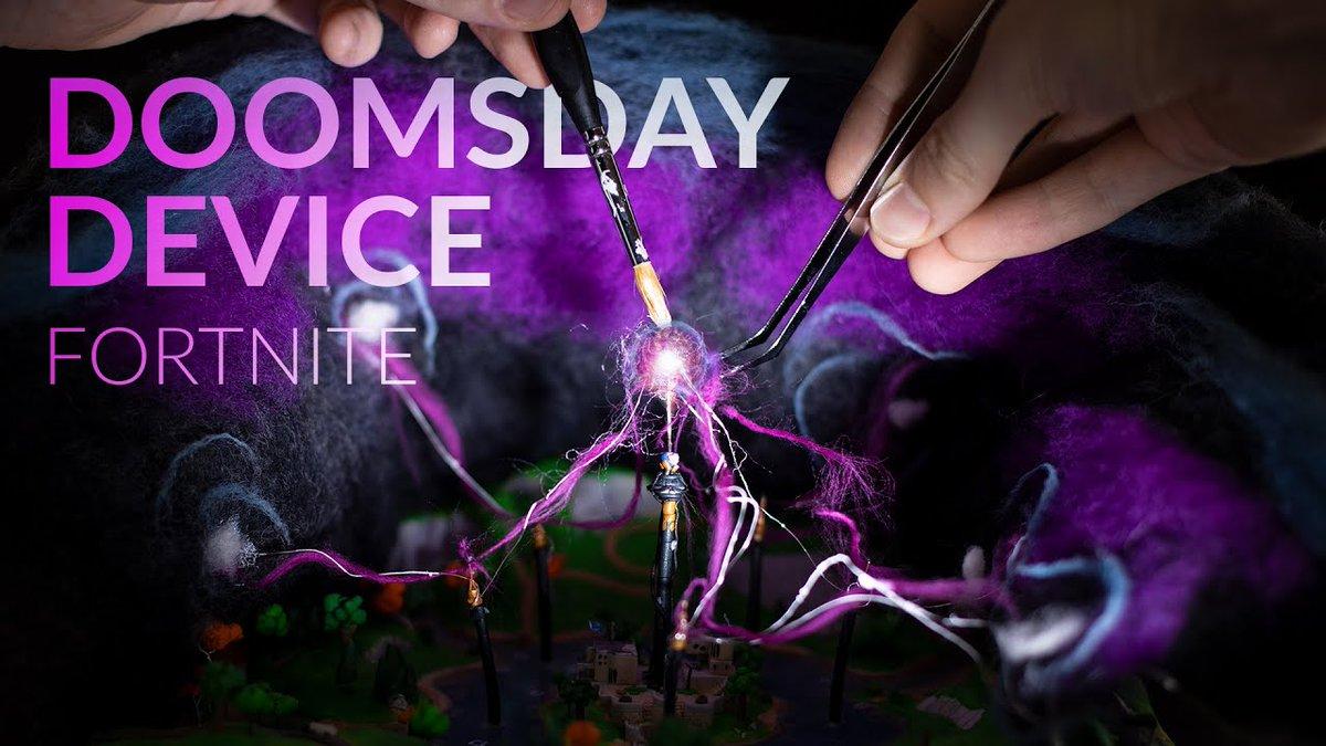 doomsday device fortnite creative code