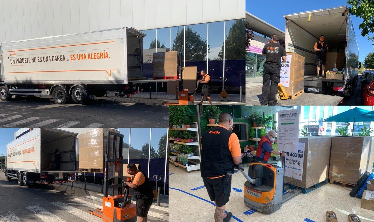 Estamos muy living de haber colaborado en la recogida de alimentos organizada por el @RCMajadahonda  👏🏼👏🏾👏🏿  Se han recaudado 5 toneladas y media de comida en @ELeclerc_Esp y que se distribuirán por @_CARITAS  a las familias más necesitadas de Majadahonda. #cargadosdesolidaridad https://t.co/wY95pjQN0i