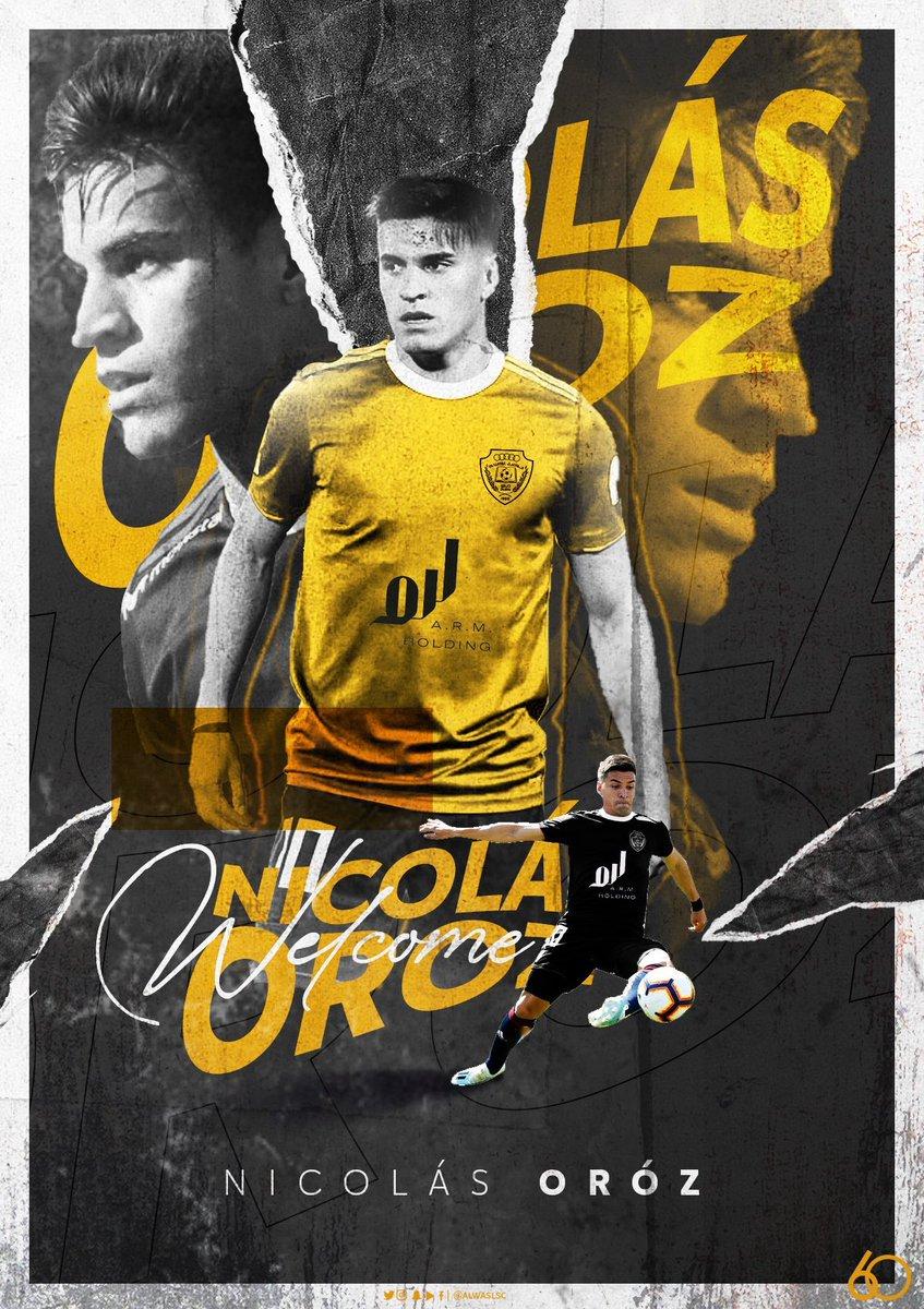 رسمياً | الأرجنتيني نيكولاس أوروز يوقع للـ@AlWaslSC لمدة موسم واحد على سبيل الإعارة .