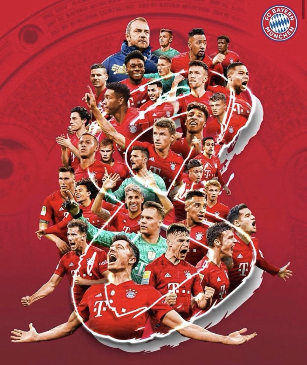 My first 🇩🇪 championship and the reason why I came here : being among those who work harder, winning with who know what it takes 💪🏻 Huge congrats to all my teammates, @fcbayern staff and employees and our fans, today more than ever 🙌🏻🙌🏻 #MiaSanMia #MEI8TER https://t.co/51oECgQqcg