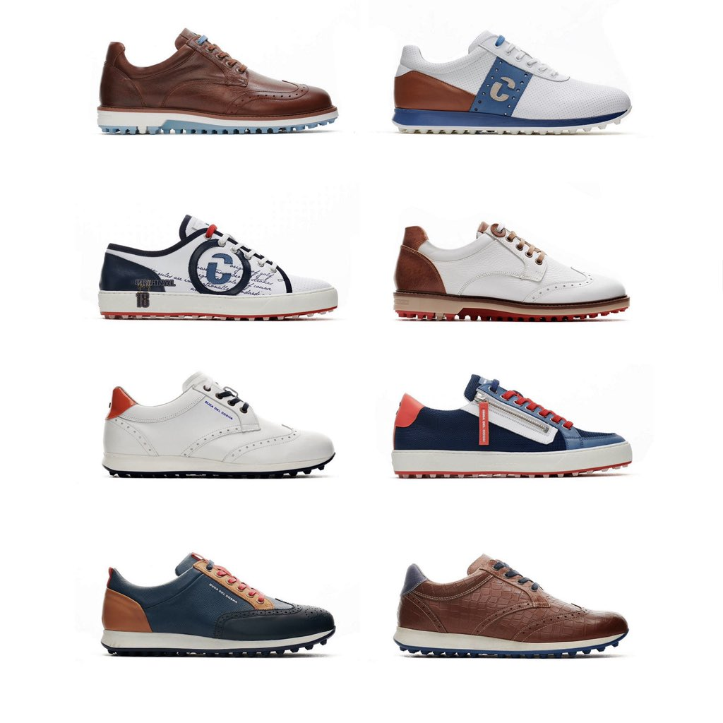 🚨 PGAPappas Father's Day Duca del Cosma Golf Shoes GIVEAWAY 🚨  Choose ANY pair of Duca Shoes YOU WANT from their entire New SS/20 Collection: https://t.co/T0K8WX7Yg8  To enter: ✅ Comment or post pic of the Duca shoes you want  ✅ RT & Follow @Ducadelcosma_ and @PGAPappas https://t.co/4O6LMBI1TP
