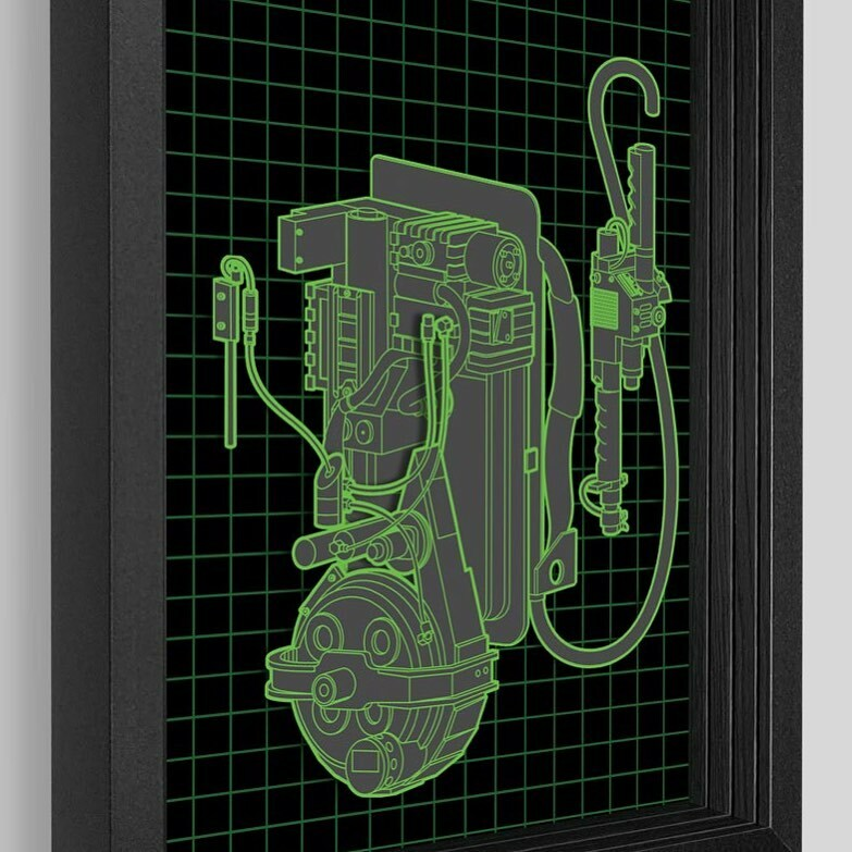 Who you gonna call? https://t.co/pyr7vfwUEj #art #artwork #shadowbox #protonpack #ghostbusters #ghost #venkman #slimer #movie #cinema #3d #explodedview #diagram #blueprint #iaintafraidofnoghost #spooky #creepy #haunted #gozer #fun #new #heslimedme https://t.co/yhLvWfr6Lf