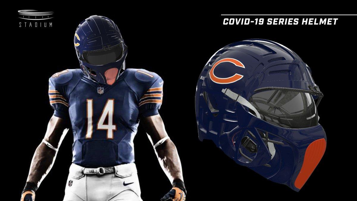 NFL players might sport #COVID19 helmets this fall ... What do you think? 👀 https://t.co/XXqvNDPU7N