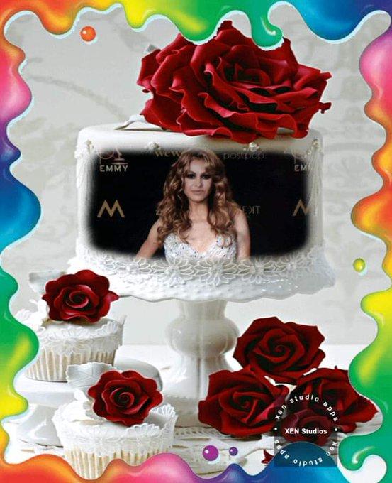 Happy birthday  paulina Rubio