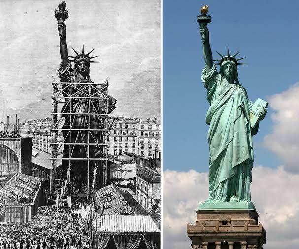 RT @fracmentos: 17 de junio 1885 LaEstatua de la Libertadllega al puerto deNueva York. https://t.co/VSnUKltUYg