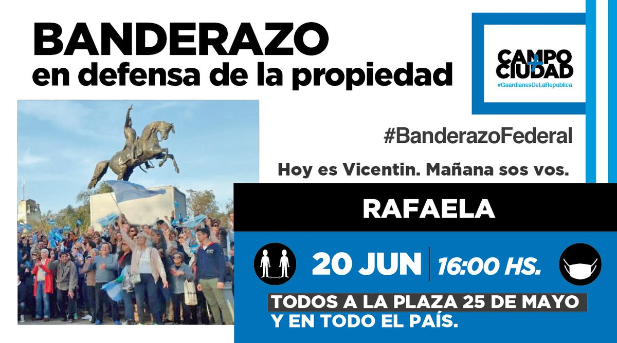 RT @arielviano: #20JBanderazoPorLaRepública https://t.co/mnB6WEhYxL