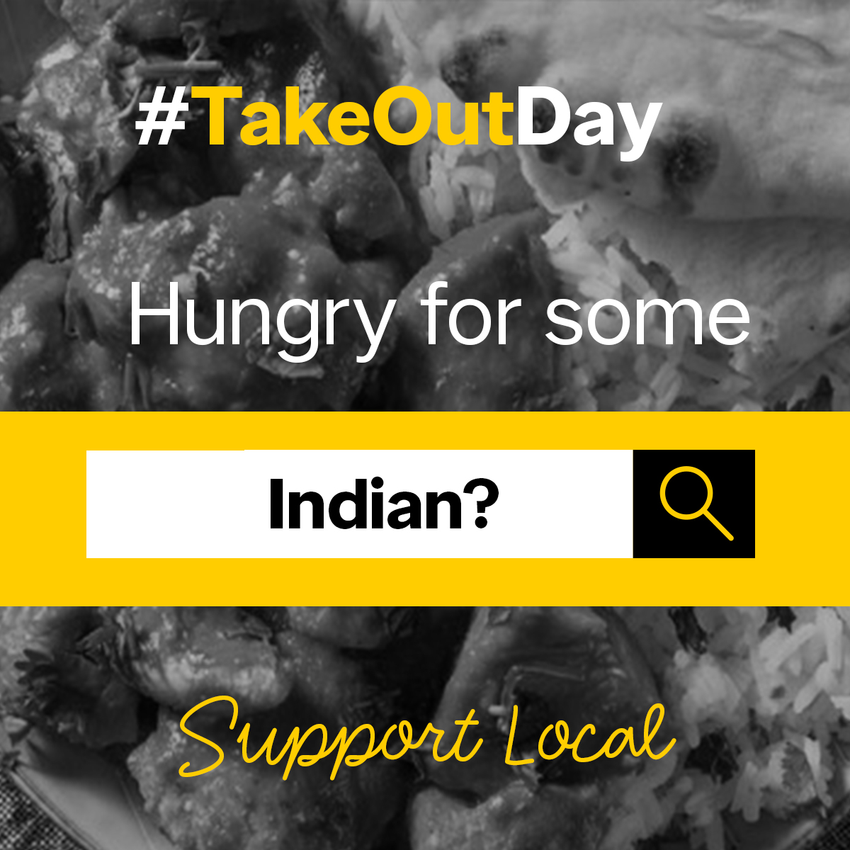 Does this image stir up cravings for Indian cuisine? Order in or get take out and support your local Indian restaurants today! #TakeOutDay!  ----> https://t.co/kmqCsGCjZq https://t.co/7KLr37ByWD
