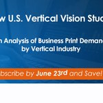 Image for the Tweet beginning: New Vertical Industry Study for