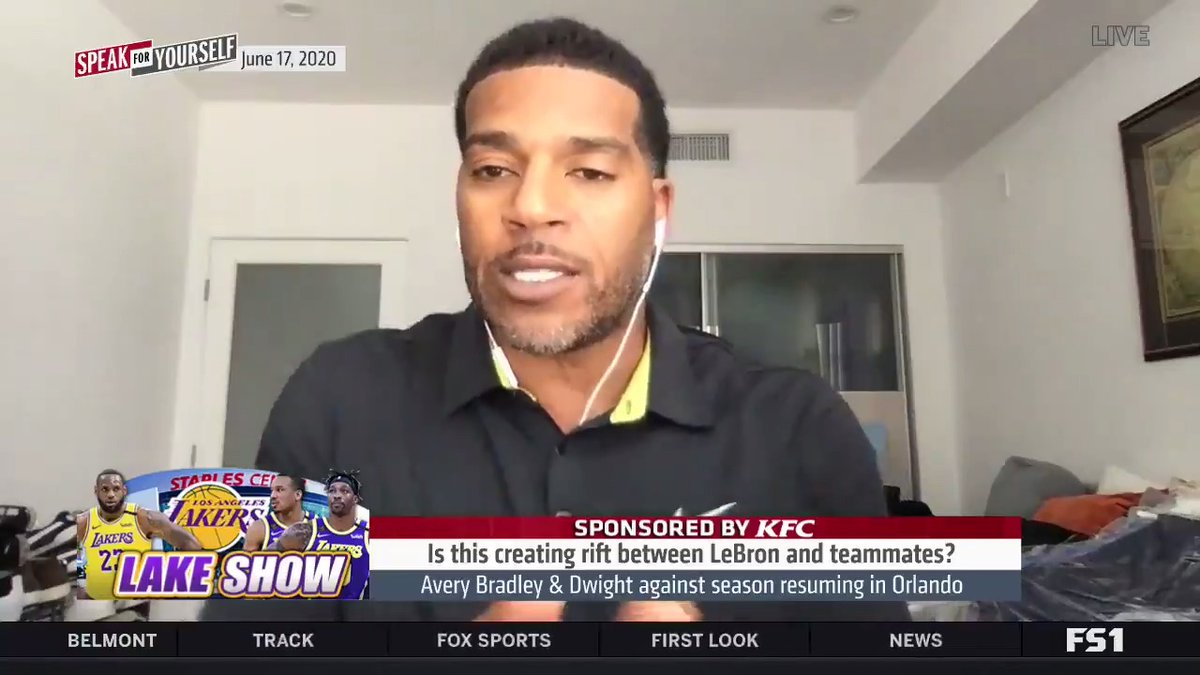 """.@JimJackson419 explains why there's a rift between LeBron & his teammates  """"You had 11 days to bring up this point during these negotiations... but it wasn't brought up. Then afterwards, now you come back & say well players shouldn't play. That's where the whole thing comes in."""" https://t.co/BLGRxJyqyU"""