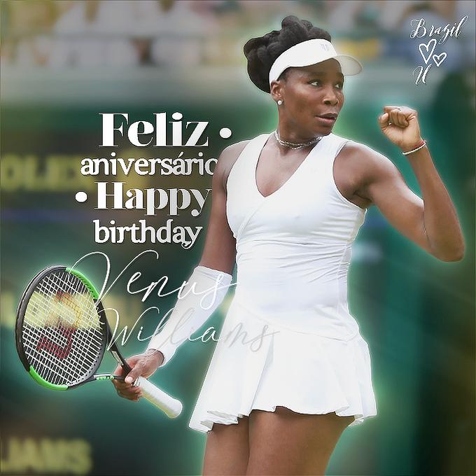 Happy Birthday to Venus Williams