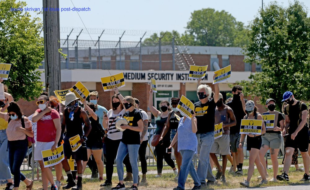Protesters renew demands to close St. Louis workhouse jail stltoday.com/news/local/cri… via @stltoday @joelcurrier