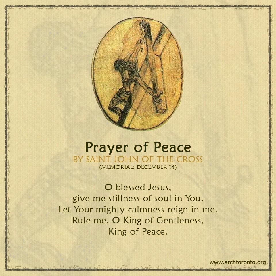 Prayer from St. John of the Cross - https://t.co/6kgMOmHzF7