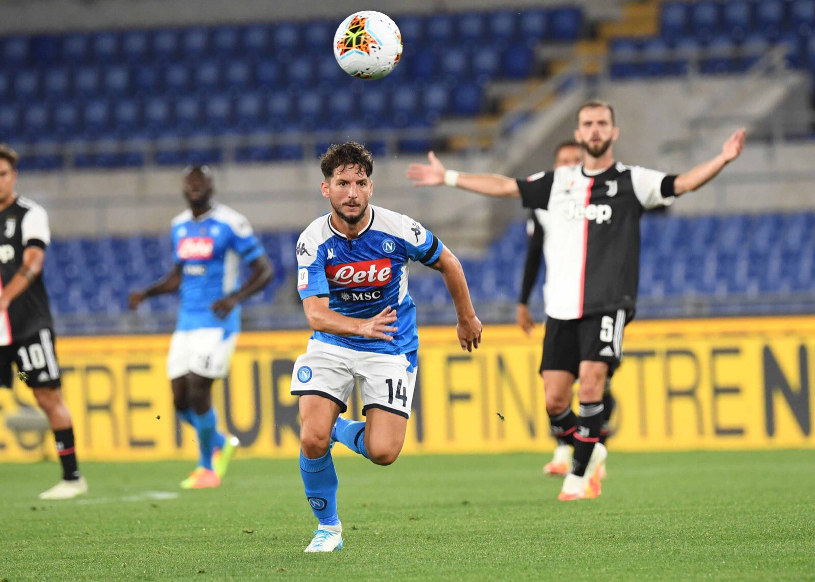 بركلات الترجيح نابولي يسحق يوڤنتوس ويحقق لقب كأس إيطاليا للمرة السادسة في تاريخه