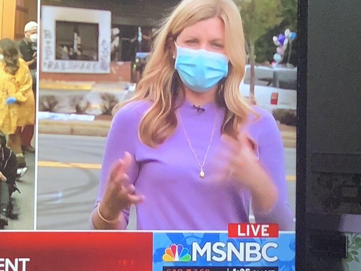 @CatieBeckNBC I'm enjoying this lavender sweater of yours. I need some new staples in my closet. Where did you get this!? #ReporterCloset