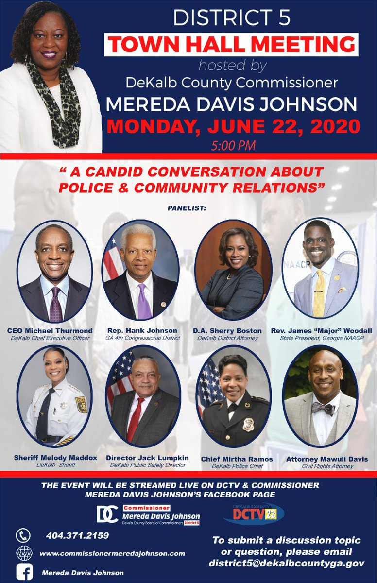 Join me for 'A Candid Conversation on Police and Community Relations'... conta.cc/2BhPYXv
