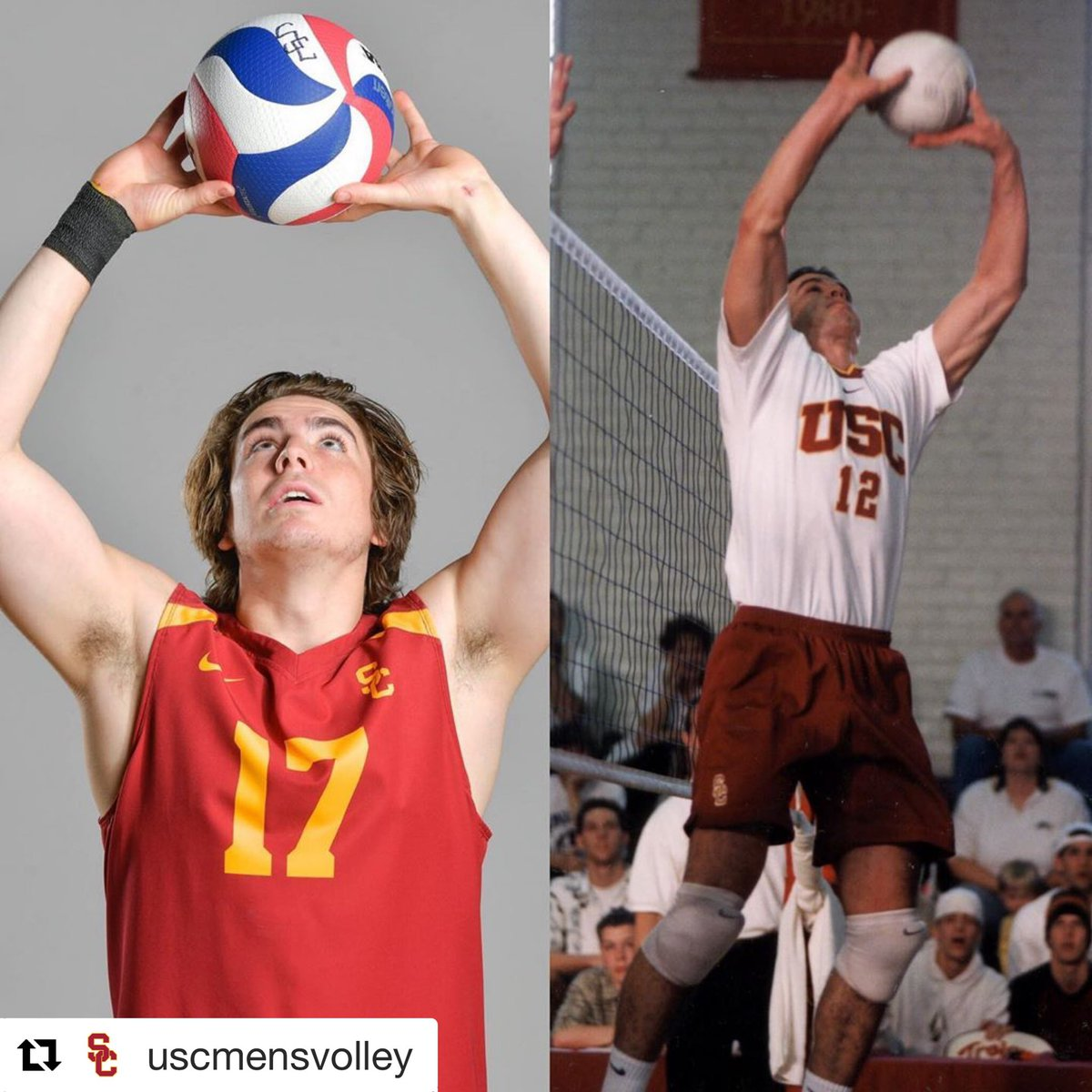 Donald Suxho On Twitter Follow Usc Men S Volleyball Instagram Today My Son Shane Me Will Share Some Cool Stories Time Flies Fighton Trojanfamily Usc Familylegacy Https T Co Ic1c6fjuhr