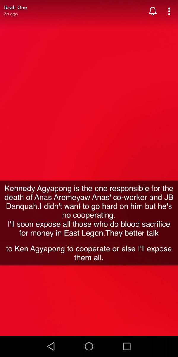 Ibrah one is seeking #kennedyagyapong attention pic.twitter.com/JdxKpPHI0D  by Zigma_ MUFC