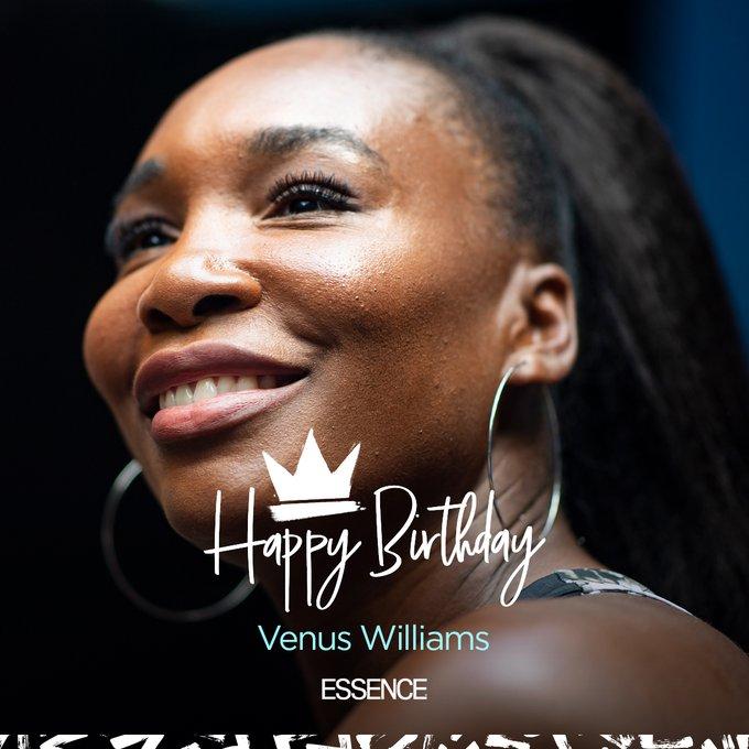 Happy 40th birthday to the iconic Venus Williams.
