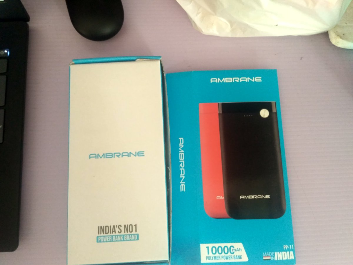 Needed Power backup for my phone so bought #Ambrane ditching major Chinese product. Tweeting from Chinese phone but  pledge not to buy Chinese product as far as possible from now on.  Can't go and fight on borders but can atleast do this.  #BoycottChineseProduct  #DoOurPart https://t.co/5a3aRY6Iz7