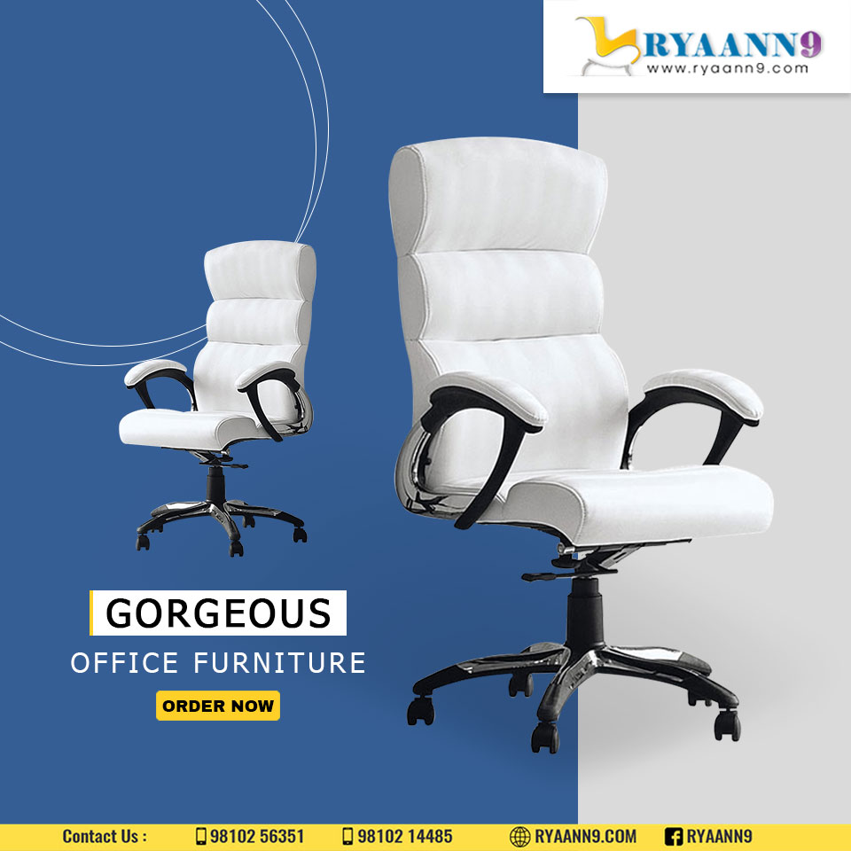 - Fill your office with beautiful furniture. - Designs inspired by the new generation with a classic touch. #RYAANN9 #MAHLAXMI #OFFICECHAIRS #OFFICETABLES For Further information please visit us: http://www.ryaann9.com  CALL US: 9810256351, 9810214485pic.twitter.com/aV0wQOcW7B