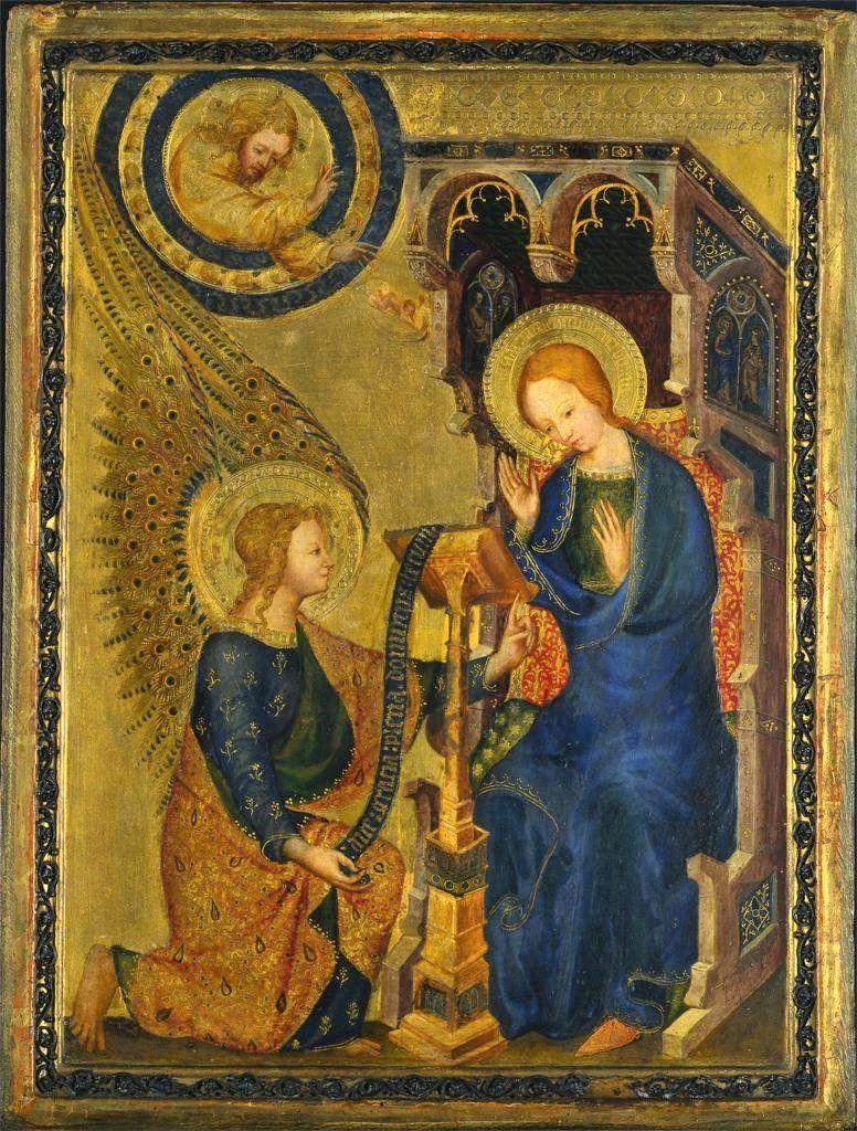 Icon of the Annunciation. https://t.co/oTfhsNPwKT