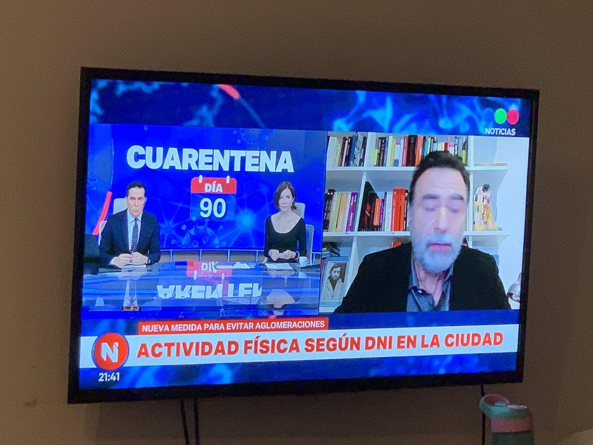 Restringen la salidas deportivas en la ciudad de Buenos Aires. Será por número de DNI. #COVID19 https://t.co/eqH1TGk3kF