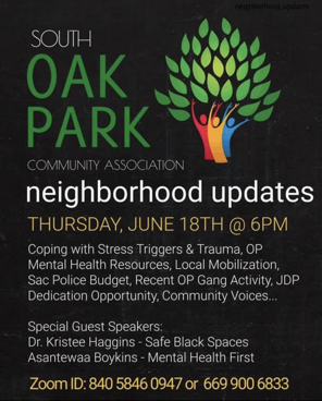 Day 4 of our week of Action will be closed out with a virtual Peace Talk led by our Oak Park Community  leaders. In this peace talk the Oak Park community will be leading a conversation around issues effecting our communities. Check out the flyer for more details: https://t.co/9h7KEii3ss