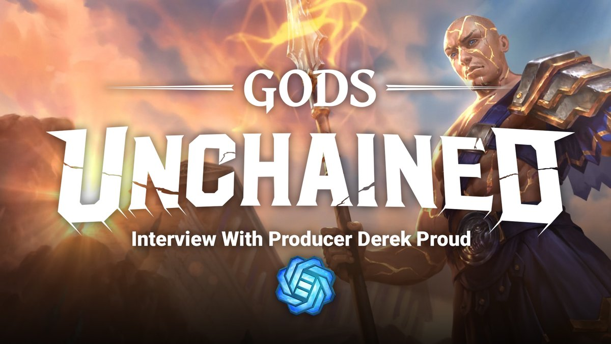 #GIVEAWAY WIN 1 Legendary TotG Card Pack! I talk with @GodsUnchained producer @DungeonMapp and we dive deep into Season 1 Trial of the Gods & so much more! 1. Like, Retweet, Follow me and @GodsUnchained 2. Watch the interview & subscribe 👉bit.ly/gu-interview-d… #playtoearn